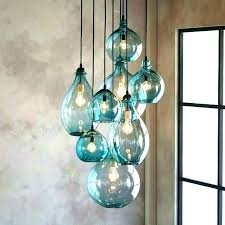 hand blown glass pendant lights heavenly lighting for kitchen view fresh in window