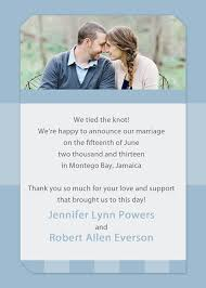 Online Announcement Cards Affordable Blue Spring Photo Wedding Announcements Ewa011 As