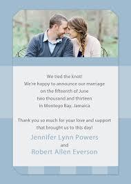 Announcement Cards Wedding Affordable Blue Spring Photo Wedding Announcements Ewa011 As