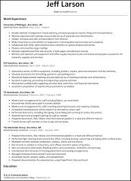 Examples Of Administrative Assistant Resume Resume For Study