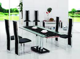 chrome and glass dining room table pavia extending glass chrome dining room table 6