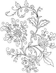 Coloring Pages Of Flowers Free Printable Flower Coloring Pages Adult