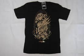 умереть для одежды конька для рака татуировки логотип футболка малый Bnwt