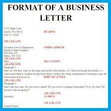 Formal Letter Template On Letterhead Sample Document Resumes