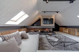 Stylish Attic Living Rooms