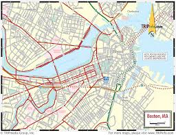 boston ma map