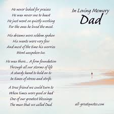 Funeral Words For Cards Inspiration He Never Looked For Praises Remembering Dad Cards Family