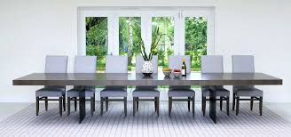 contemporary large dining tables