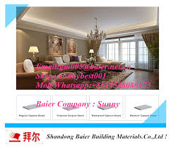 Interior Design Materials Amazing China Interior Decoration Building Material Drywall Standard Plaster