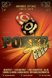 4 X 6 Flyer Template Poker Night Flyer Template 4 X 6 By Alexlasek Graphicriver