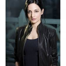 archie panjabi the good wife kalinda sharma black leather jacket for