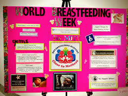 g e m s group of empowered moms happy world breastfeeding week above we have chop s world breastfeeding week table informative posters and a raffle of goods all donated by local vendors