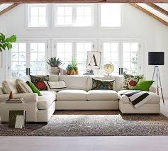 In grey for family room--Townsend Upholstered Sectional With Chaise