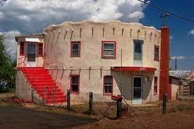 adobe home design. round adobe home design