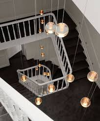 modern stairwell lighting. aliexpresscom buy long stairway g4 led luminaria crystal glass ball pendant lights 26 pcs stair professional lighting hallway ceiling lamp from modern stairwell a