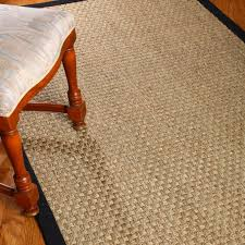 decorating living room design using seagrass rugs plus coffee