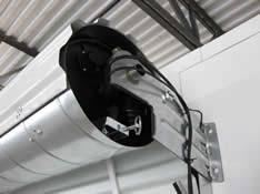 roll up garage door openerIn Drum Pantheon electric door operator