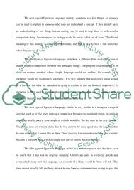 figurative language versus literal language essay figurative language versus literal language essay example