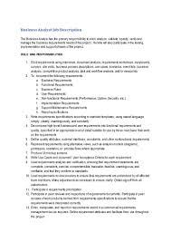 Business Analyst Job Description Business Analyst Job Description CLDJune24 2