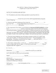 9 best images of example of notice of hearing public hearing sample notice of hearing and motion