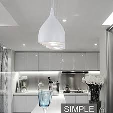 contemporary pendant lighting for dining room. Beautiful For ModernContemporary Painting Metal Pendant Lights Bedroom  Dining Room  Kitchen Study For Contemporary Lighting S