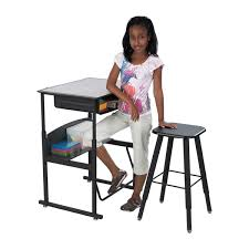 alphabetter stand up desk premium top with book box