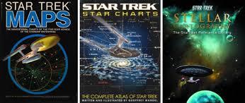 Star Trek Star Charts Book Mapping Star Trek The Map Room