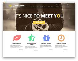 Small Picture 25 Best Free WordPress Themes Built With Bootstrap 2017 Colorlib