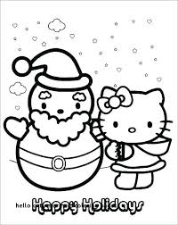 Hello Kitty Coloring Page Mermaid Pages Free Print Christmas Cats