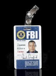 Jack And laurence Hannibal Security Fbi Card Crawford's 410 Lapel - Id Price Current Fishburne