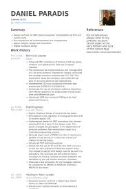 C Resume Sample Best Of Technical Lead Resume Samples VisualCV Resume Samples Database