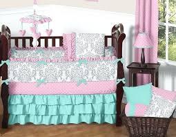 solid color crib bedding sets solid color crib bedding in pink blue more solid color baby solid color crib bedding sets