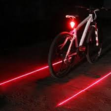 Waterproof Bicycle Tail Safety Light Laser Lamp Car
