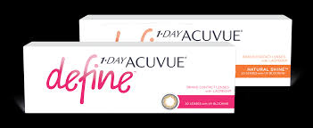 1 Day Acuvue Define Contact Lenses Acuvue Brand Contact