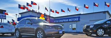 about kyle chapman motors