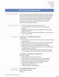 Elementary Teacher Resume Sample Latest Format For Teachers Pics