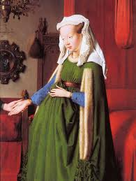 Jan Van Eyck Wedding Portrait Meaning