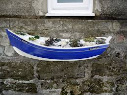 coble fishing boat planter boulby