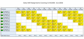 excel rotating schedule rotating work schedule rotatingrotation shift schedule templates 15