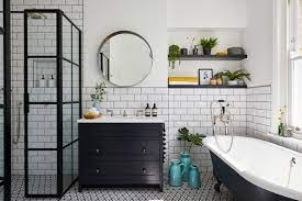 how to clean bathroom tiles with baking
