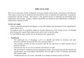 job analysis a level business studies marked by teachers com document image preview