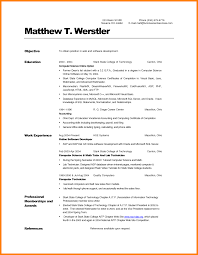 Intern Resume Examples 100 computer science intern resume memo heading 74