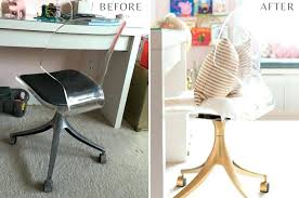 office chair makeover. Diy Desk Ideas For Small Spaces Glam Office Chair Makeover The Home I Create With Regard