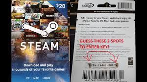 free steam codes steam wallet code generator no human verification