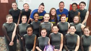 PHOTO GALLERY: D-Y winter guard honors Marathon victims - News - Wicked  Local - Boston, MA