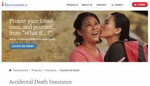 transamerica accidental insurance