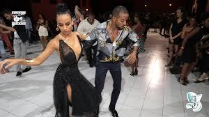 Maykel fonts & Sylvia Chapelli - salsa social dancing @ Martinique Int  'Salsa Festival 2018 - YouTube