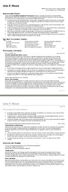 Resume Examples For Military To Civilian Free Resume Example And