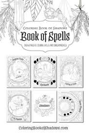 118 best coloring book of shadows images on in 2018 book of shadows coloring books and coloring pages