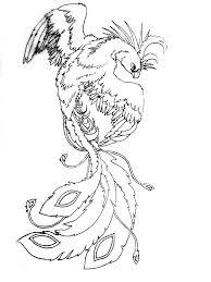 тритатушки архив блога эскизы тату феникс